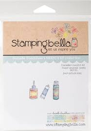 Stamping Bella Danielle's Swatch Kit Paint & Ink (Mini) (DD125)