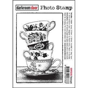 Darkroom Door Photo Stamp - Teacups DDPS046