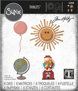 Sizzix Thinlits Circle Play by Tim Holtz (663868)
