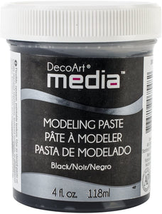 DecoArt Media Black Modeling Paste (DMM22)