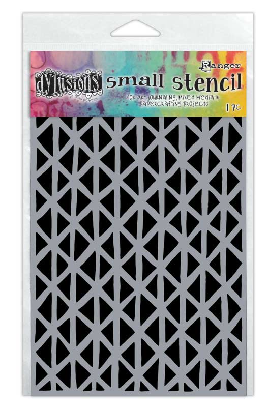Dylusions Stencil: Angles Small DYS61670