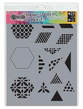"Load image into Gallery viewer, Dylusions by Dyan Reaveley 1.5"" Quilt Large Stencil (DYS75349)"