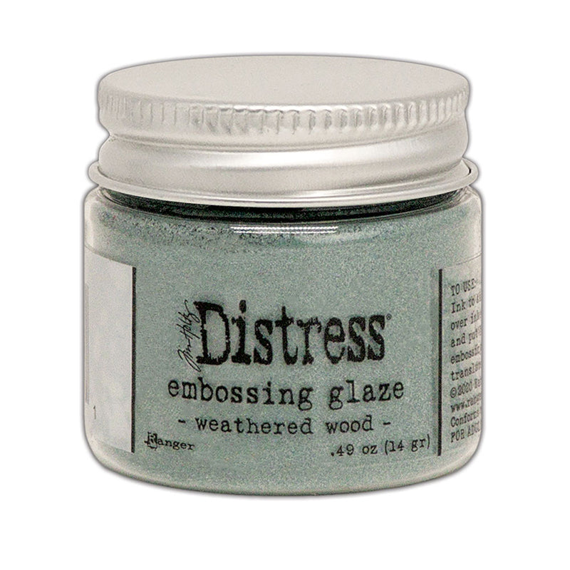 Tim Holtz Distress Embossing Glaze Weathered Wood TDE71059