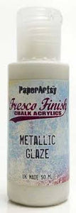 PaperArtsy Fresco Finish Chalk Acrylics Metallic Glaze (FF24)