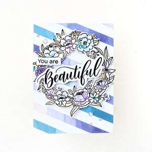 Pinkfresh Studios Photopolymer Clear Stamp Set - Floral Elements (PFCS1819)