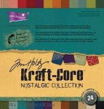 Load image into Gallery viewer, ColorCore Cardstock - Tim Holtz Kraft-Core Nostalgic Collection (GX-1920-00)
