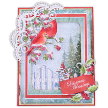 Load image into Gallery viewer, Heartfelt Creations - Festive Holly Card Kit HCCK1386