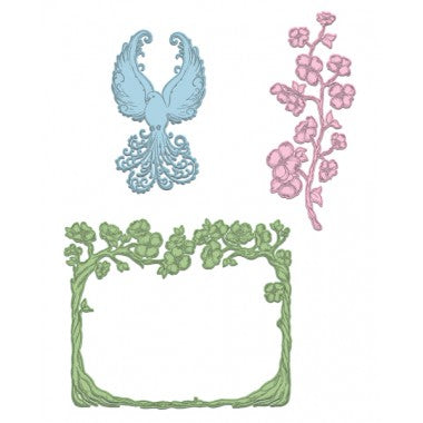 Heartfelt Creations Craft Dies- Flowering Dogwood Branches HCD1-7130