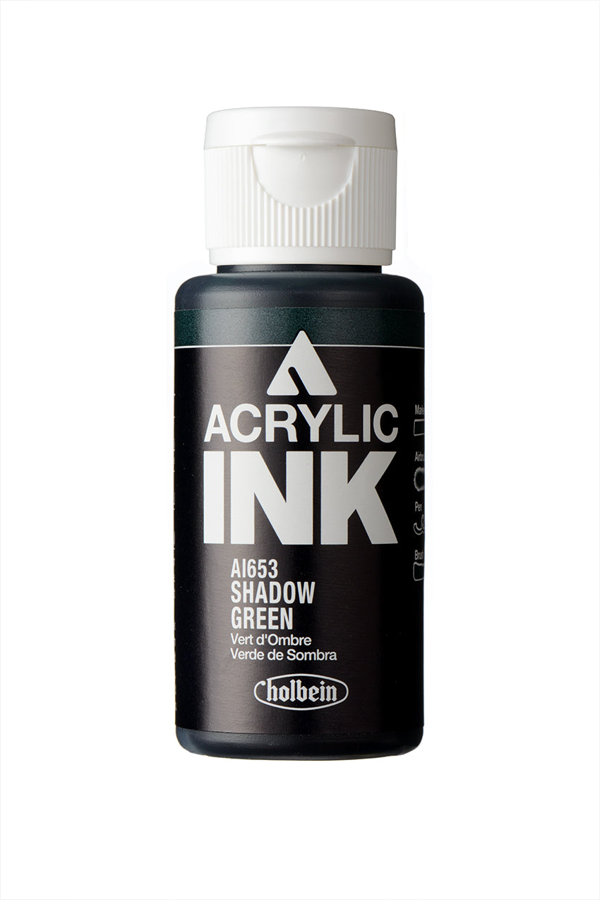 Holbein Paint Marker- Acrylic Ink- Shadow Green (AI653)