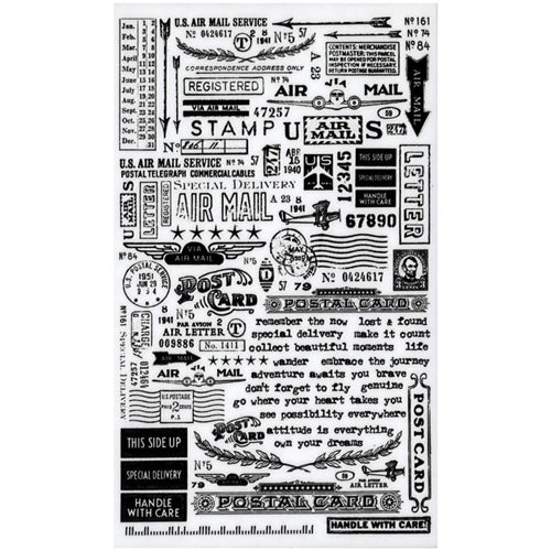 Tim Holtz Idea-ology- Remnant Rubs- Special Delivery (TH93188)
