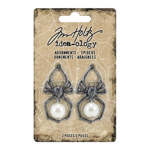 Tim Holtz Idea-ology Adornments, Spiders TH93985