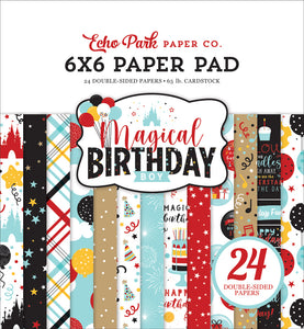 Echo Park Paper Co. 6x6 Paper Pad - Magical Birthday Boy (MBB232023)