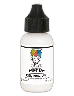 Dina Wakley: Gel Medium 1oz Fine Tip Applicator- MDQ54184