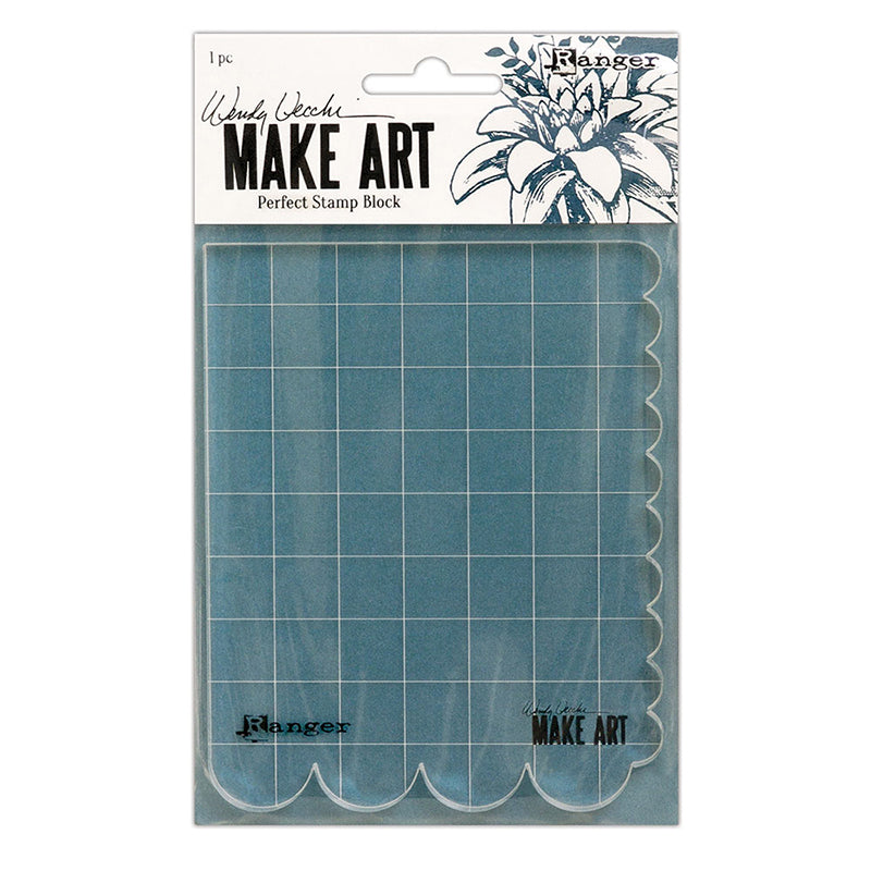 Wendy Vecchi- Make Art STAY-tion Perfect Stamp Block WVA69126