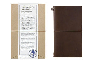 Traveler's Company Traveler's Notebook Leather Cover - Brown (13715-006)