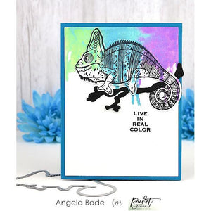 Picket Fence Studios Clear Stamp Charles the Chameleon