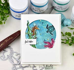 Picket Fence Studios Clear Stamp Set - Things on the Sea Floor (OC113)