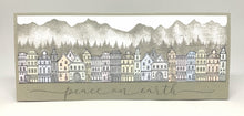 Load image into Gallery viewer, Impression Obsession Rubber Stamps - Slim Scenes - Large Mountain Layers (3226-LG)