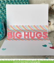 Load image into Gallery viewer, Lawn Fawn Lawn Cuts Custom Craft Dies - Pop-Up Big Hugs (LF2474)