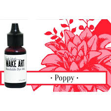 Wendy Vecchi Make Art Blendable Dye Ink Reinker - Poppy (WVR62745)