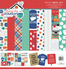 Photoplay Paper - Living the Quarantine Life Collection Kit - 12x12 (QLF2280)