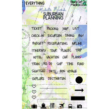 Load image into Gallery viewer, Suburban Planning Planner Stamp Set Ready Set Go