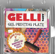 Load image into Gallery viewer, Gelli Arts Printing Plate 6″ Round