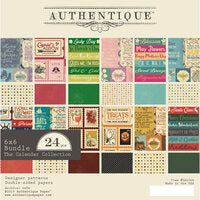 "Authentique The Calendar Collection- 6""x6"" Bundle (CAL066)"