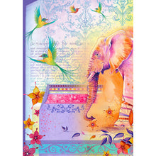 Load image into Gallery viewer, Pink Ink Designs Rice Papers to Inspire - Elephants & Flamingos (PIRIC01)