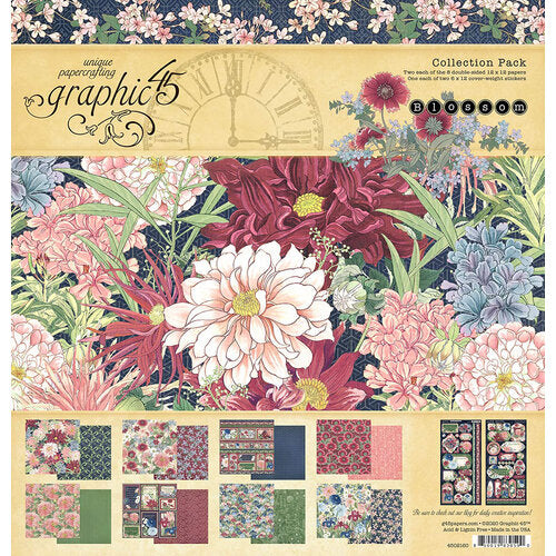 Graphic 45 Collection Pack - Blossom Collection (4502160)