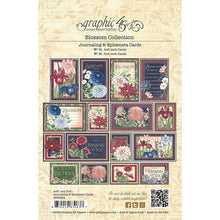 Load image into Gallery viewer, Graphic 45 Journaling & Ephemera Cards - Blossom Collection (4502164)