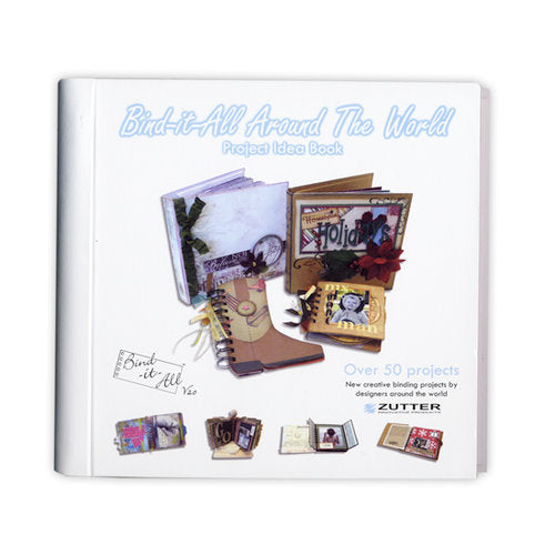 Bind-it-All Around The World Project Idea Book (7576) Retired