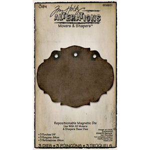 "Sizzix Movers & Shapers 3 Punches 1/4"" by Tim Holtz (656651) Retired"