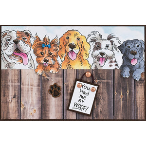 Stampendous! Fran's Clear Stamps - Dog Kisses PCS (SSC1335)