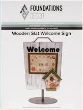 Foundations Decor Wood Slat Sign Kit (02758-2)
