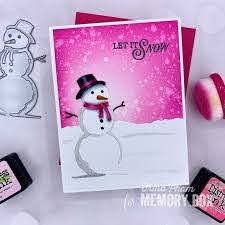 Memory Box Craft Die - Charming Snowman Collage (94498)