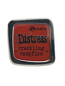 Tim Holtz Distress Enamel Pin - Crackling Campfire