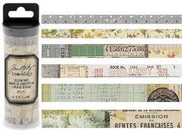 Tim Holtz idea-ology Design Tape - Collector (TH93674)