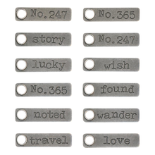 Load image into Gallery viewer, Tim Holtz Idea-ology- Story Sticks (TH93680)