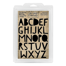 Load image into Gallery viewer, Tim Holtz Idea-ology- Cling Foam Stamps- Cutout Upper (TH93699)