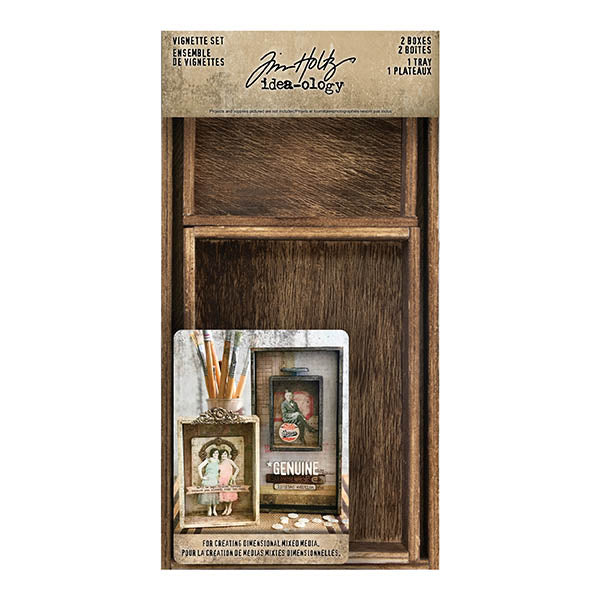Tim Holtz Idea-ology- Vignette Set (TH93782)