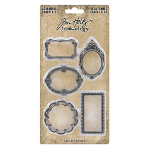 Tim Holtz Idea-ology Adornments Deco Frames (TH93792)