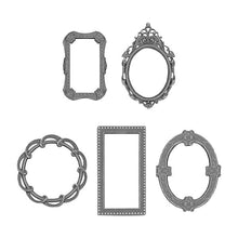Load image into Gallery viewer, Tim Holtz Idea-ology Adornments Deco Frames (TH93792)