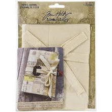 Load image into Gallery viewer, Tim Holtz idea-ology Fabric Journal - TH94029