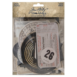 Tim Holtz idea-ology Urban Layers Elements TH94042