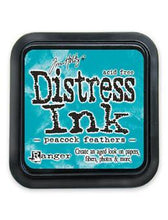 Load image into Gallery viewer, Tim Holtz Distress Ink Pad Peacock Feathers (TIM34933)
