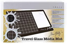 Load image into Gallery viewer, Tonic Tim Holtz Travel Glass Media Mat