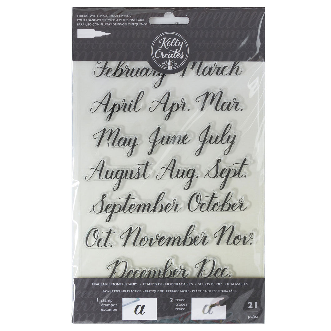 Kelly Creates Traceable Month Stamps (346394)