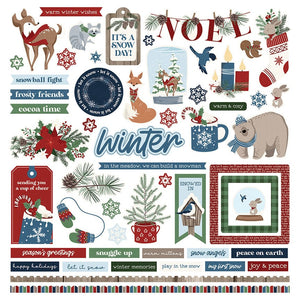 Photoplay Paper 12x12 Collection Pack Winter Memories by Becky Moore (WNT2465)