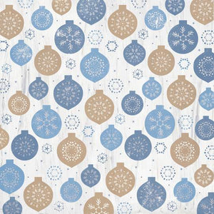 "Kasiercraft 12"" x 12"" Scrapbook Paper - Whimsy Wishes Collection - Dashing Deer (P2960)"
